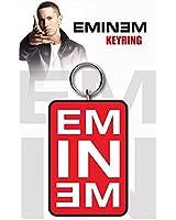 Eminem Logo marshall Official New White Keyring