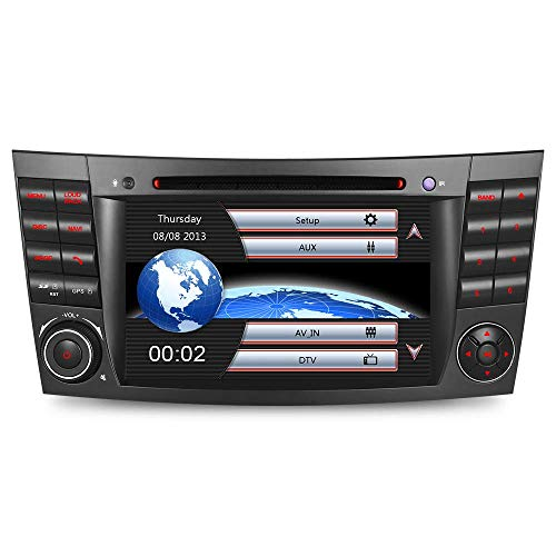 "7\"" AUTORADIO MIT 3G DVD GPS CD Moniceiver GPS Navigation Kartenslot USB Bluetooth CANBUS Dual Zone Subwoofer GPS Antenne DAB Mirrorlink Für Mercedes Benz W211 E/G Klasse W219 VMCD RDS"