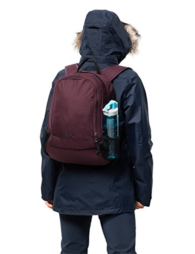Jack Wolfskin Perfect Day Rucksack, Burgundy