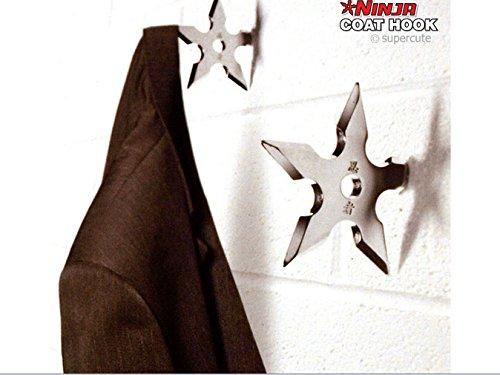 1piece Ninja Wurftodesstern Kleiderhaken / Ninja Stern (Ninja Sterne)