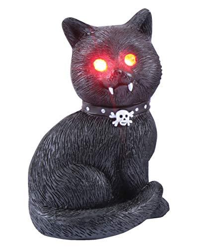 at mit roten LED Augen als Gothic & Halloween Deko ()