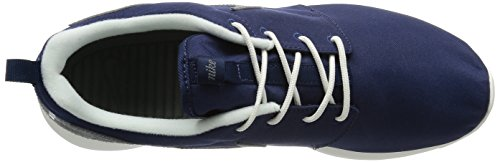 Nike Roshe One Retro, Chaussures de Running Compétition Homme Azul / Gris / Blanco (Midnight Navy / Cool Grey-Sail)