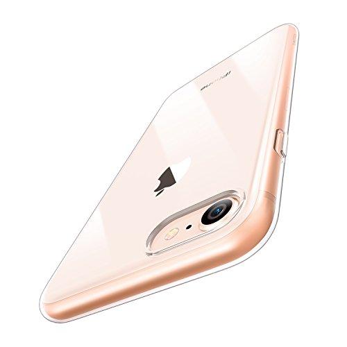 Funda iPhone 8 /iPhone 7, ESR Funda Transparente Suave TPU Gel [Ultra...