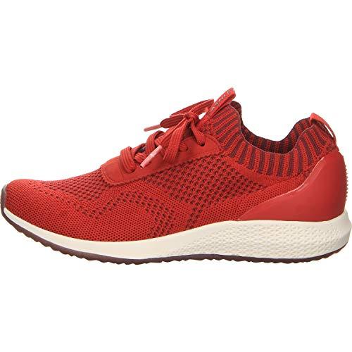 Tamaris Damen Sneaker Größe 38 EU Rot (rot)