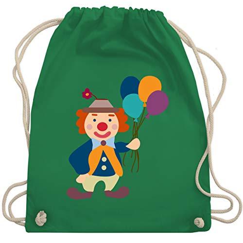 Kostüm Grünen Gemischten - Bunt gemischt Kinder - Clown Luftballons - Unisize - Grün - WM110 - Turnbeutel & Gym Bag