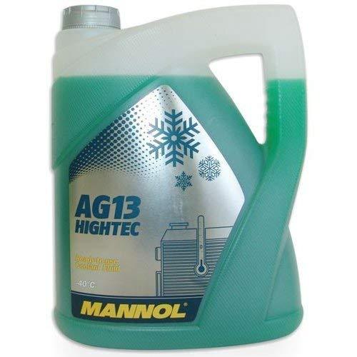 MANNOL Antifreeze AG13-40 Kühlerfrostschutz Kühlmittel, 5 Liter (Kühler Wasser)