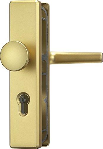 ABUS Tür-Schutzbeschlag KLS114 F3 messing 08298