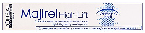 Haarfarbe Ash Blonde (L'Oréal Professionnel Majirel Hoch Lift ash plus, 50 ml)