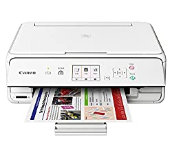 Canon Pixma TS5070 All-In-One Color InkJet Printer (White)