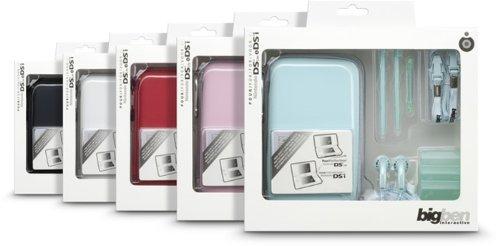 """Nintendo DS Lite/DSi - Zubehör-Pack 3 """"Essential"""" (farbig sortiert)"""