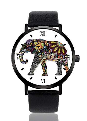 Hermoso Reloj de Pulsera con diseño de Elefantes para Hombres y Mujeres,...