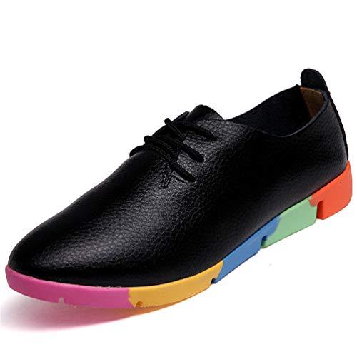 a40b4cc18a XHCHE Femmes Chaussures Mode Coloré Respirant Eté/Automne Appartements  Mesdames Flats