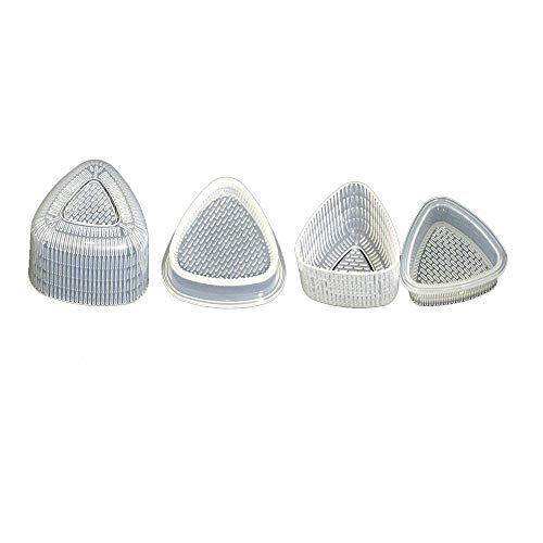 Ogquaton Forma triángulo Conjunto Sushi Molde Onigiri