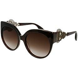 Alexander McQueen Sonnenbrille (AM0061S 002 57)