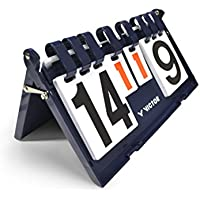 VICTOR Scoreboard - Marcador de puntuación y tiempo, color Azul Oscuro