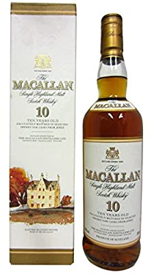 Macallan - Single Highland Malt (old bottling) - 10 year old Whisky