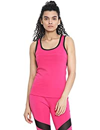 fd10036f3a CHKOKKO Sports Bra and Yoga Pant Gym Wear Fitness Training Set for Women  Hot Pink S