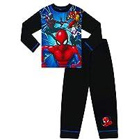 Boys Marvel Spiderman Cool Long Pyjamas
