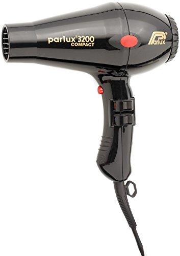 Parlux 3200 Compact Asciugacapelli Phon, colore: Nero