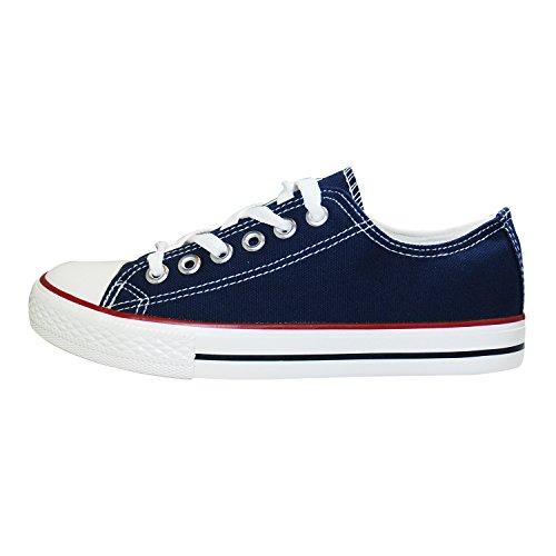 Mulheres Sapatos De Desporto De Homens Cult De Baixo Da Lona Da Sapatilha Sapatos De Dança Sapatos Ficar Azul Escuro 36-41