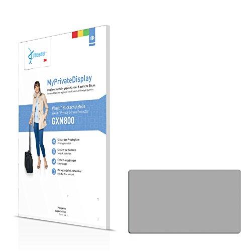 Vikuiti Blickschutzfolie GXN800 von 3M für Panasonic SDR-H100 Displayschutzfolie - Privacy, Anti-Spy, Sichtschutz