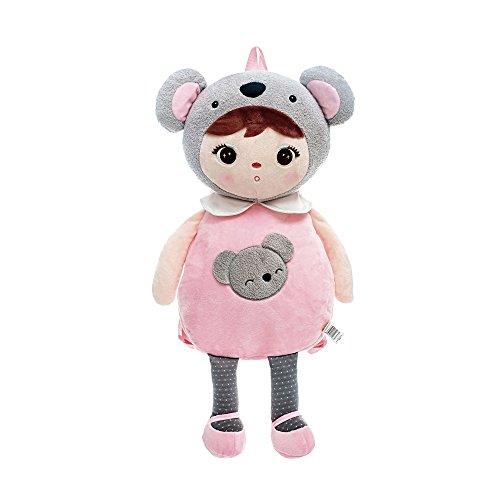 k/Kleinkind Tasche - Cartoon Plüsch Koala Baby Kinder Schultertasche Grau - Keppel Style ()