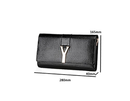 Messenger Bag Mode Lackleder Kupplungstasche Bankett Red