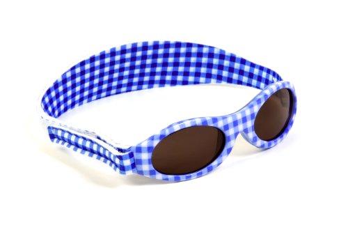 Bonsana AG KIDZBANZ Kindersonnenbrille - AQUA CHECK Adventure KB038 Unisex - Kinder Babybekleidung Sonnenbrillen, Gr. (2-5 Jahre), Trkis