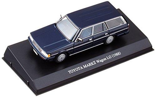 Preisvergleich Produktbild Model Car TOYOTA GX70G MARK 2 WAGON LG 1/43 DISM (Blue Mica) Japanese Model Cars