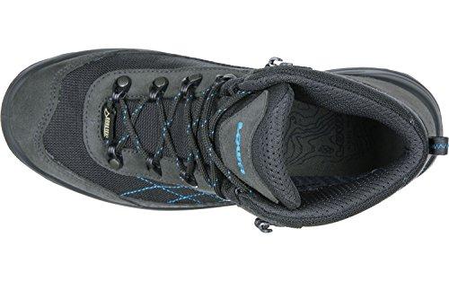 Lowa Gorgon GTX WS, Chaussures de Randonnée Femme gris bleu
