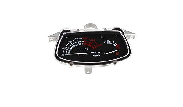 V motorrad analog entfernungsmesser meter messgerät amazon auto