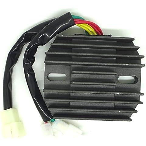 conpus voltaje regulador rectificador para Honda VT 1100VT 1100C2Shadow 1995–1999Honda VT 1100Shadow Sabre 2000–2007