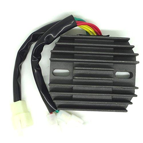 conpus Regolatore di tensione raddrizzatore per Honda VT 1100VT 1100C2Shadow 1995-1999Honda VT 1100Shadow Sabre 2000-2007 - 2004 Honda Sabre 1100