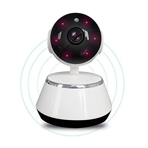 Drahtlose Kamera, Wifi IP Kamera 720P Hausüberwachung Überwachungskamera, Videoaufnahme Sonic Anerkennung P2P Pan Tilt Remote Bewegungserkennung Alarm, Weiß(EU Standard) Tilt Remote