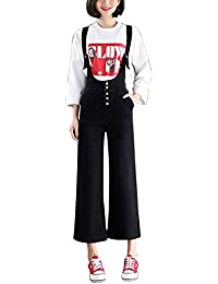 taglia 40 c45ea c8216 Amazon.it: Pantaloni Con Bretelle - Jeans / Donna: Abbigliamento