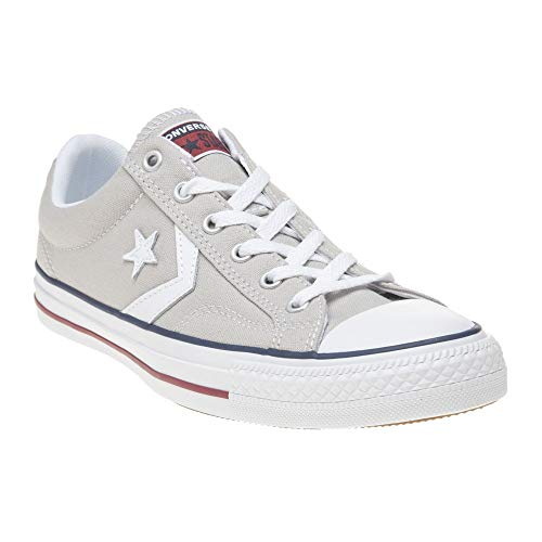 Converse Unisex-Erwachsene Star Player OX Cloud Grey/White Fitnessschuhe, Grau 050, 46/47 EU
