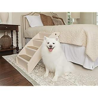 PetSafe - Escaliers pour Animaux de Compagnie Pliables PetSafe Solvit PupStep Plus Extra Large, 4 Marches pour Chien/Chat