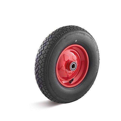 roue-a-air-400mm-avec-jante-en-tole-dacier-et-roulement-a-bille-motif-de-lug-charge-utile-250kg
