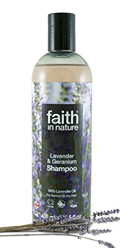 Faith In Nature Lavender & Geranium Soothing Shampoo Normal To Dry Hair 400ml