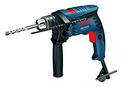 Bosch GSB 1300 Impact Drill (550 watts, 13mm, Blue)  available at amazon for Rs.3529