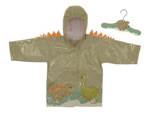 Kidorable Dinosaurier Regenmantel, grün, 2T Größe: 2T Farbe: grün, Modell: Dinosaurier