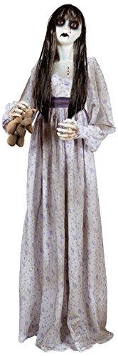Widmann - bambola assassina unisex-adult, grigio, 140 cm, vd-wdm01419