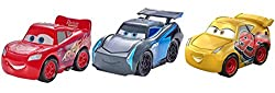 Disney Pixar Cars Mini Racers 3 Pack