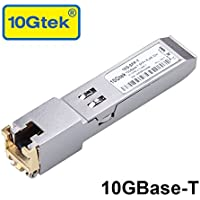 10G SFP+ RJ45 Copper Módulo, 10GBase-T SFP+ Transceiver, 30 Metros, Compatible para Cisco SFP-10G-T-S, Ubiquiti UF-RJ45-10G, Netgear, TP-Link, D-Link