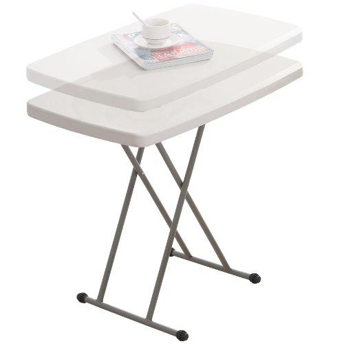 Hartleys Table pliante réglable en hauteur env. 75 cm