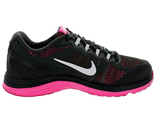 Nike Damen Wmns Dual Fusion Run 3 Laufschuhe Gris (Anthrct / White-Hypr Pnk-Fchs Fr)
