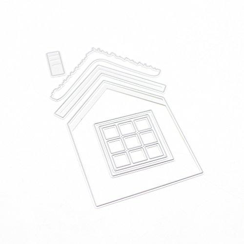 en Haus Stanzformen Schablonen Scrapbook Album Papier Karte Prägen DIY Handwerk ()