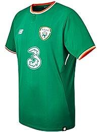 New Balance Offical FAI Merchandise Ireland Home 2017 2018 Camiseta de  Manga Corta 55e9eb8165860