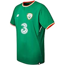 New Balance Offical FAI Merchandise Ireland Home 2017/2018 Camiseta de Manga Corta, Hombre