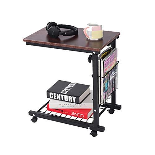 Nordic Minimaliste Moderne Table De Chevet Amovible Levage Petite Table Basse Côté Paresseux Bureau D'ordinateur Canapé Côté Petit Bureau